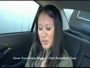 laseczka robi loda w samochodzie
